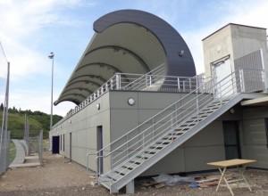 Réaménagement du stade de la Cressonnière à Saint Fons